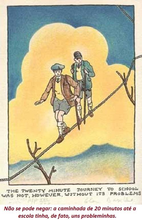 by Glen (Colonel) Baxter (1944-), desenhista inglês