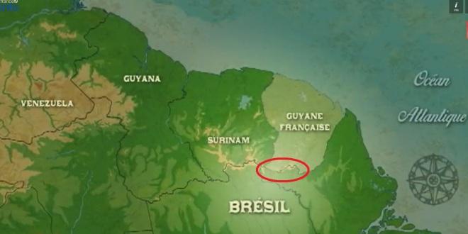 Fronteira seca entre Brasil e França