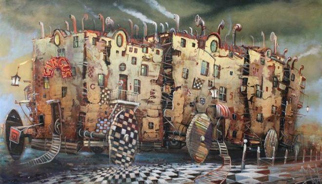 by Modestas Malinauskas, artista lituano