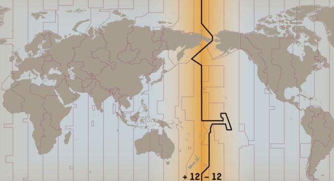 Linha internacional da data