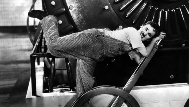 Tempos Modernos (1936), Charles Chaplin
