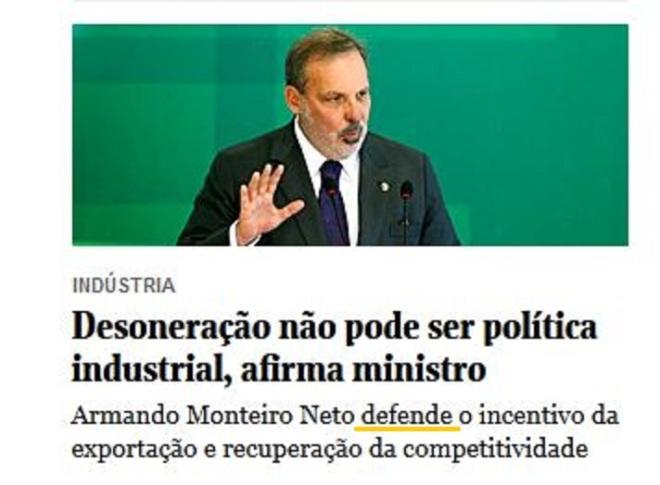 Chamada Folha, 26 set° 2015