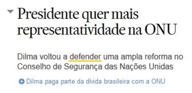Chamada Estadão, 26 set° 2015