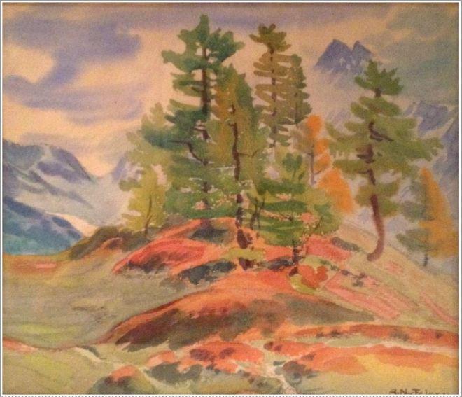 by Albert Nyfeler (1883-1969), artista suíço