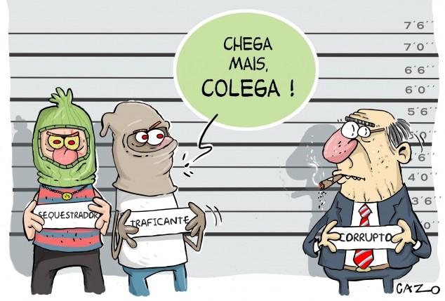 by Luiz Fernando Cazo, desenhista paulista