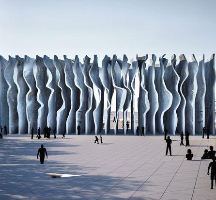 Memorial às vítimas do Holocausto projeto