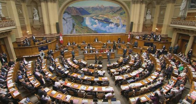 Parlamento suiço, Berna