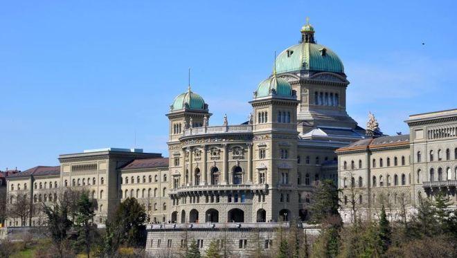 Palácio federal, Berna, Suíça