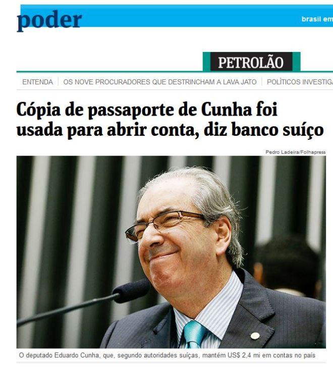 Folha online, 9 out° 2015
