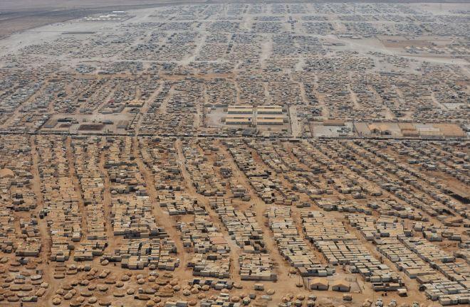 Campo de refugiados sírios, Zaatari, Jordânia