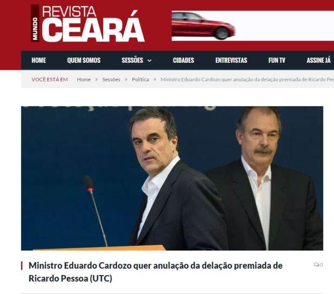 Chamada da Revista Ceará