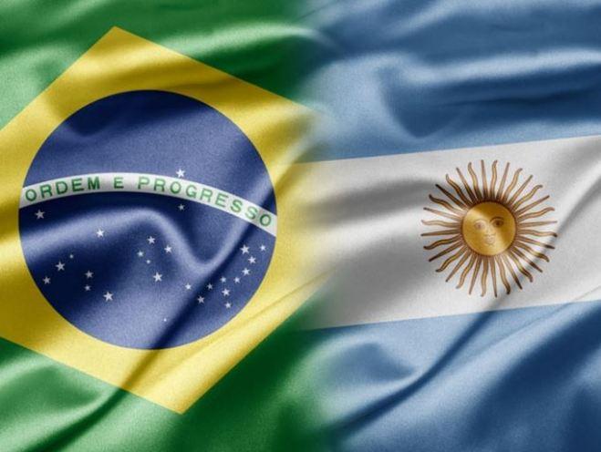 Bandeira Brasil Argentina