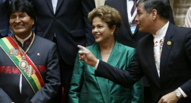 Dilma Evo Correa