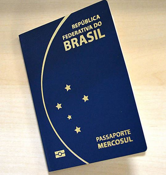 Passaporte brasileiro - modelo novo