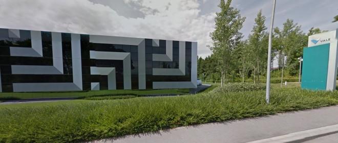 Majestosa sede da Vale Internacional, em St-Prex, Suíça, às margens do Lago Léman Imagens Google