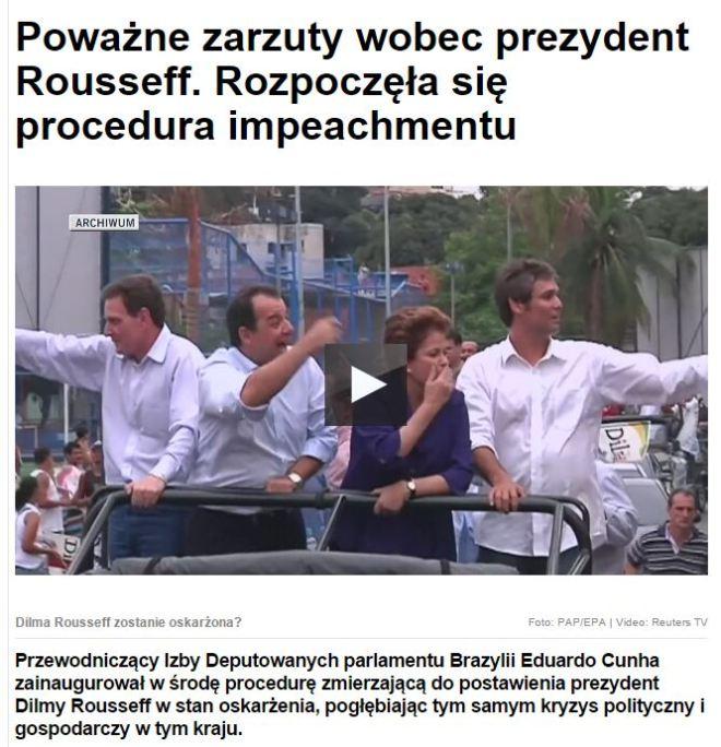 Chamada de TVN24, Polônia