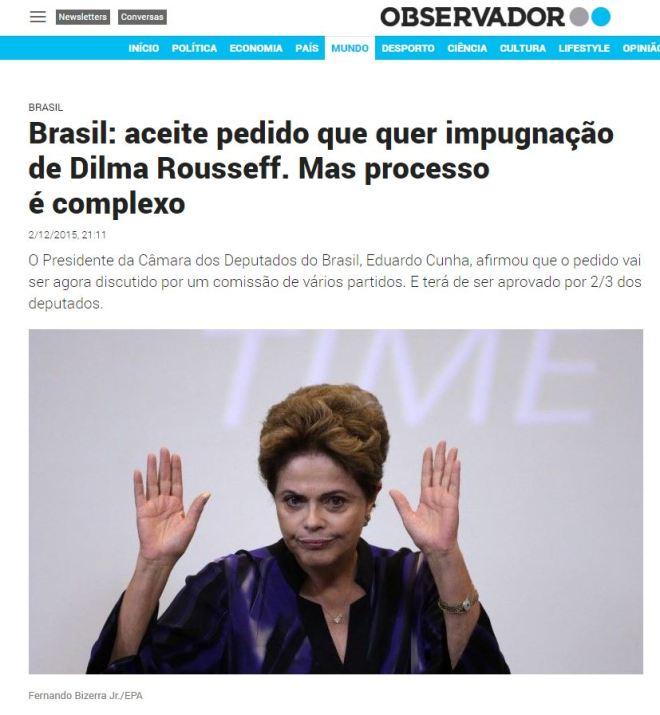 Chamada de Observador, Portugal