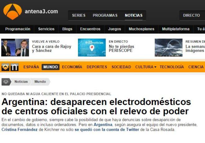 Chamada de Antena 3 (Espanha), 16 dez° 2015