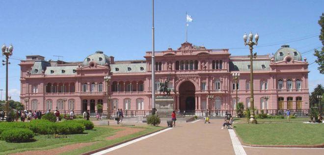Casa Rosada, a sede do Executivo argentino