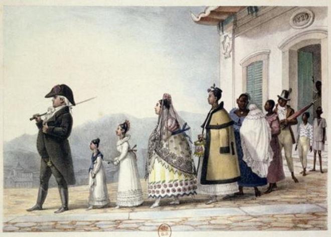 by Jean-Baptiste Debret (1768-1848), artista francês