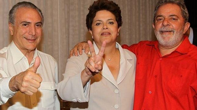 Dilma Lula Temer