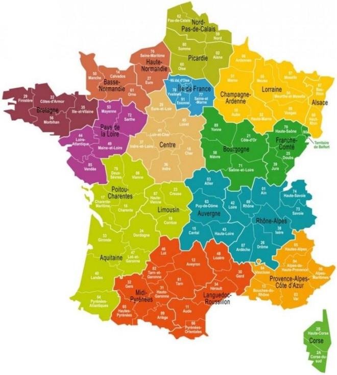 Regiões da França