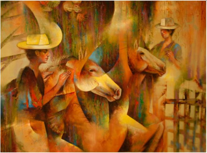 by Osiris Gómez, artista da República Dominicana