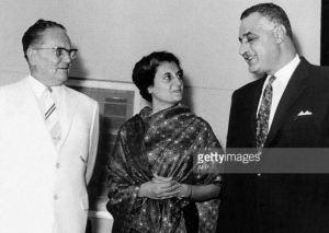 Tito, Indira Gandhi, Nasser