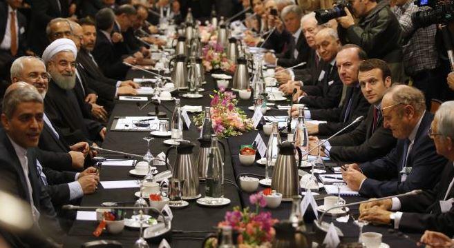 França & Irã: reunião de trabalho