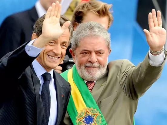 Lula e Sarkozy