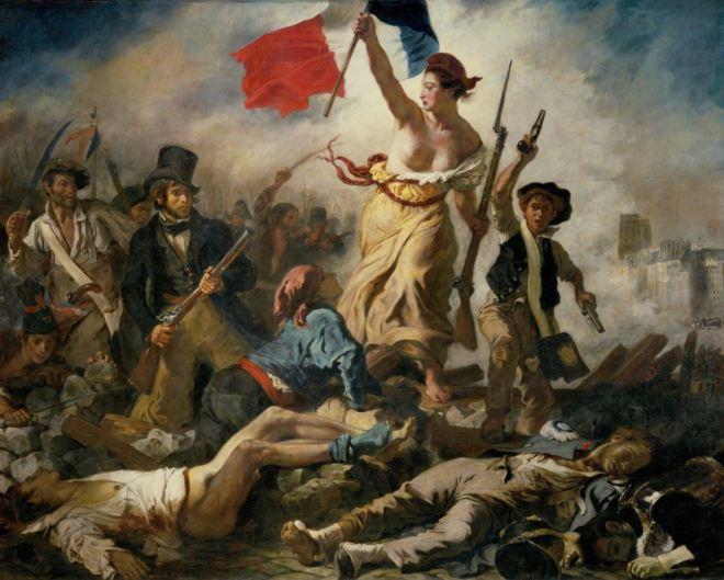 by Eugène Delacroix (1798-1863), pintor francês
