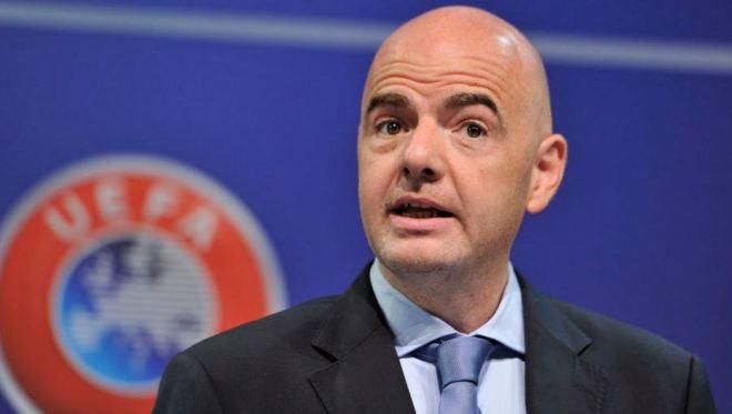 Gianni Infantino, novo presidente da Fifa
