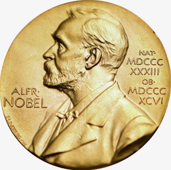 Medalha que acompanha o Prêmio Nobel