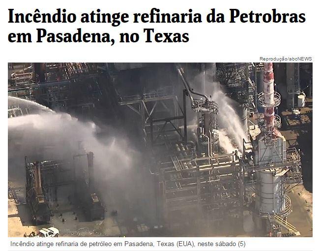 Chamada da Folha de São Paulo, 5 março 2016