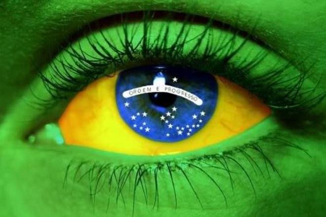 Bandeira olho 2
