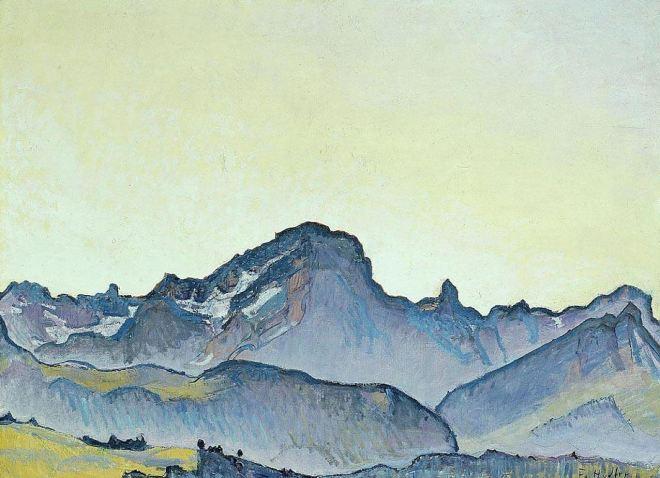 by Ferdinand Hodler (1853-1918), artista suíço (clique para ampliar)