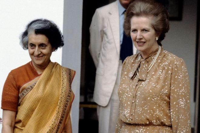 Indira Gandhi & Margaret Thatcher