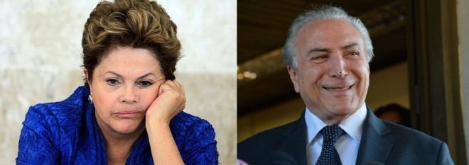 Dilma e Temer