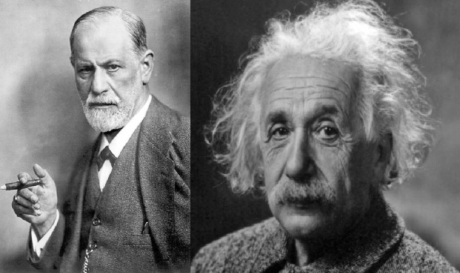 Einstein e Freud