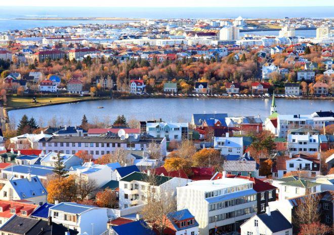 Reykjavik, cidade capital da Islândia