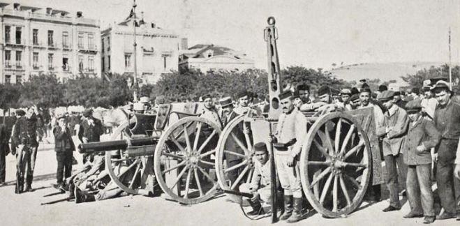 Forças republicanas, Lisboa 1910