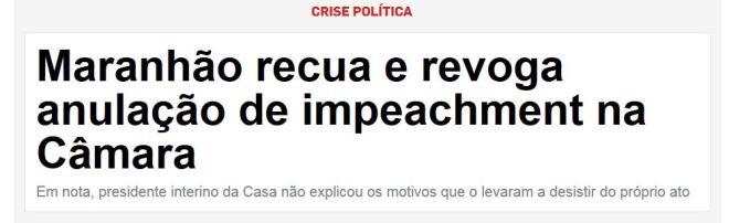 Chamada Estado de São Paulo, 10 maio 2016