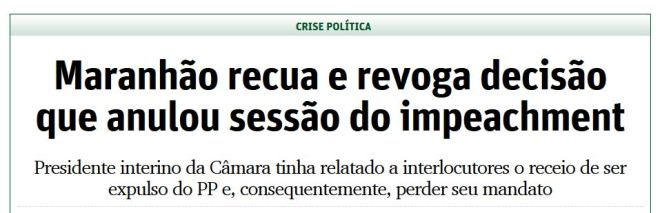 Chamada O Tempo (Belo Horizonte), 10 maio 2016