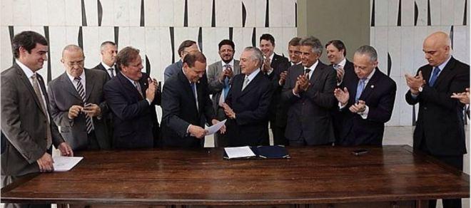 Primeiro ministério Temer, 12 maio 2016