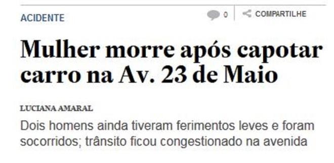 Chamada do Estadão, 3 jun 2016