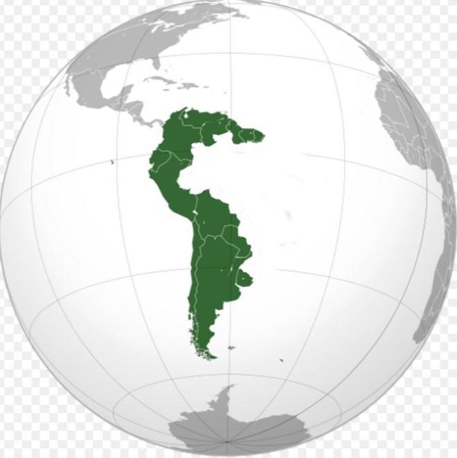 América do Sul sem Brasil