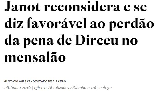 Chamada Estadão, 28 jun 2016