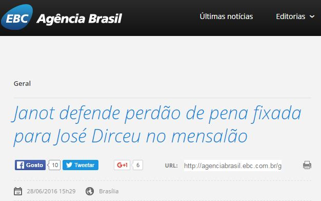 Chamada Agência Brasil, 28 jun 2016