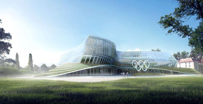 Comitê Internacional Olímpico Maquete da nova sede, Lausanne, Suíça