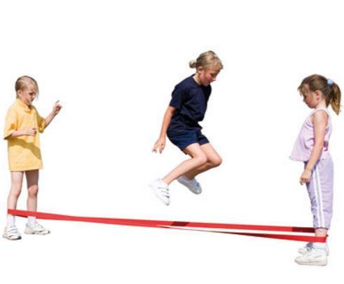 French skipping - Brincadeira infantil com corda